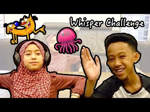 |CHALLANGE| - Whisper Challenge (ft. Danish Hilman)