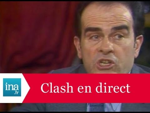 Les plus gros clashes en direct à la tv - Archive INA