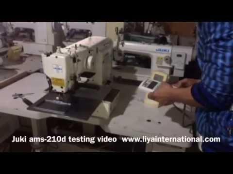 Juki AMS40D Programmable Pattern Sewing Machine YouTube Magnificent Juki Ams224e Programmable Sewing Machine