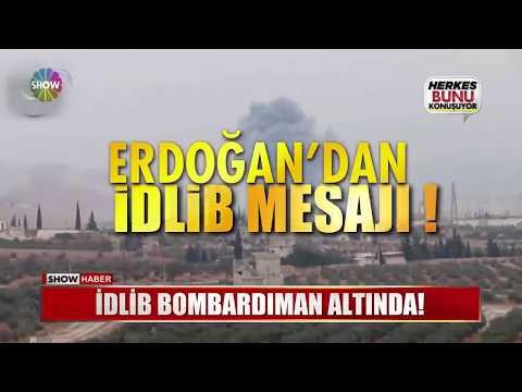 İdlib Bombardıman Altında!