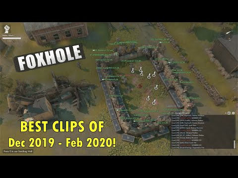 Foxhole - ULTIMATE compilation Of The Best & Funniest Clips I Saved |