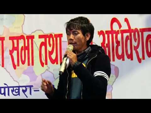 Live salaijo singing at pokhara by Nabin Rana