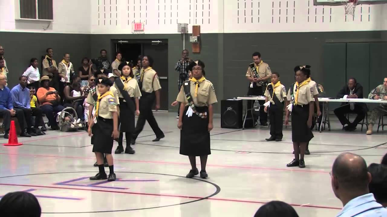 Gethsemane SDA Church PathFinders Competition 2012 - Marching Drill - YouTube
