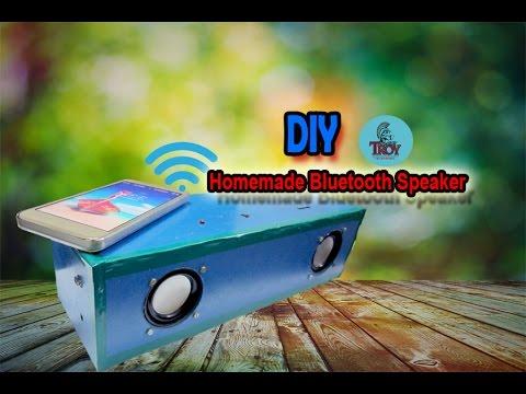 How to make a Homemade Bluetooth Speaker (DIY)