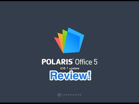 Polaris Office (ios 7 update) Review!