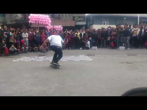 Mizo Charity Show Skateboard 2016 | Mizoram's Skateboarding