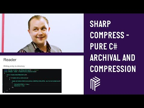 SharpCompress - Pure C# Archival and Compression - Dot Net