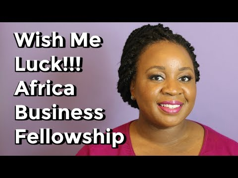 My Africa Business Fellowship Application :)   It's Iveoma