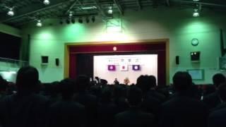 小山台高校卒業式校歌