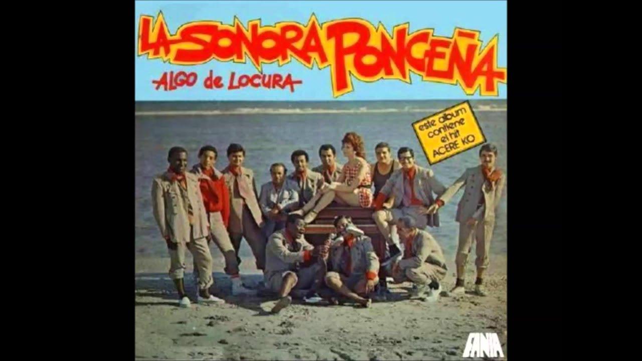 La Sonora Poncena* La Sonora Ponceña - Algo De Locura