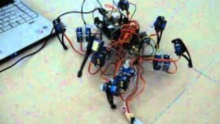 Quadruped robot ready for assembly Robots Pinterest