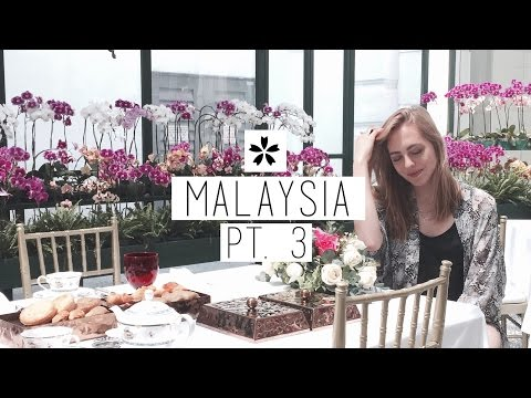 MALAYSIA VLOG ➂ Moulding Metal, Orchid Brunch + Malacca | chanelegance