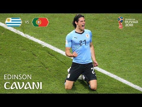 Edinson CAVANI Goal  - Uruguay v Portugal - MATCH 49
