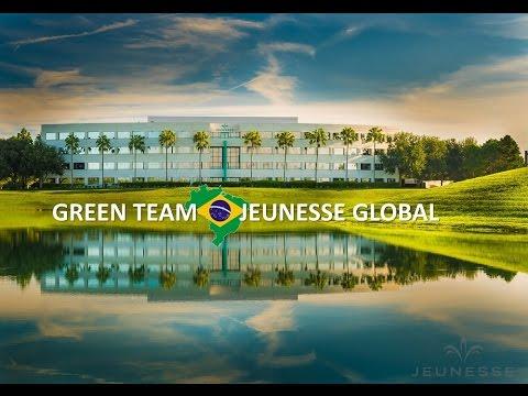 A MELHOR APRESENTAÇÃO - JEUNESSE GLOBAL - 2016 - GREEN TEAM