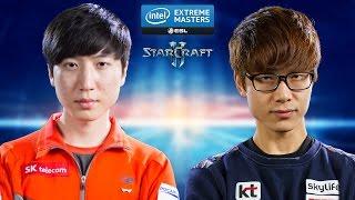 StarCraft 2 - INnoVation vs. Zest (TvP) - IEM Katowice 2015 - Quarterfinal