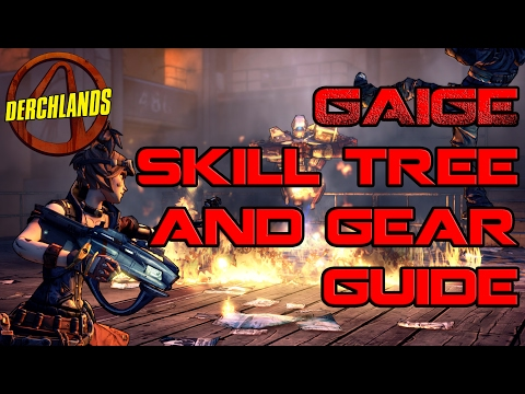 Borderlands Gaige Skill and Gear Guide Part One, Everything but the Coms