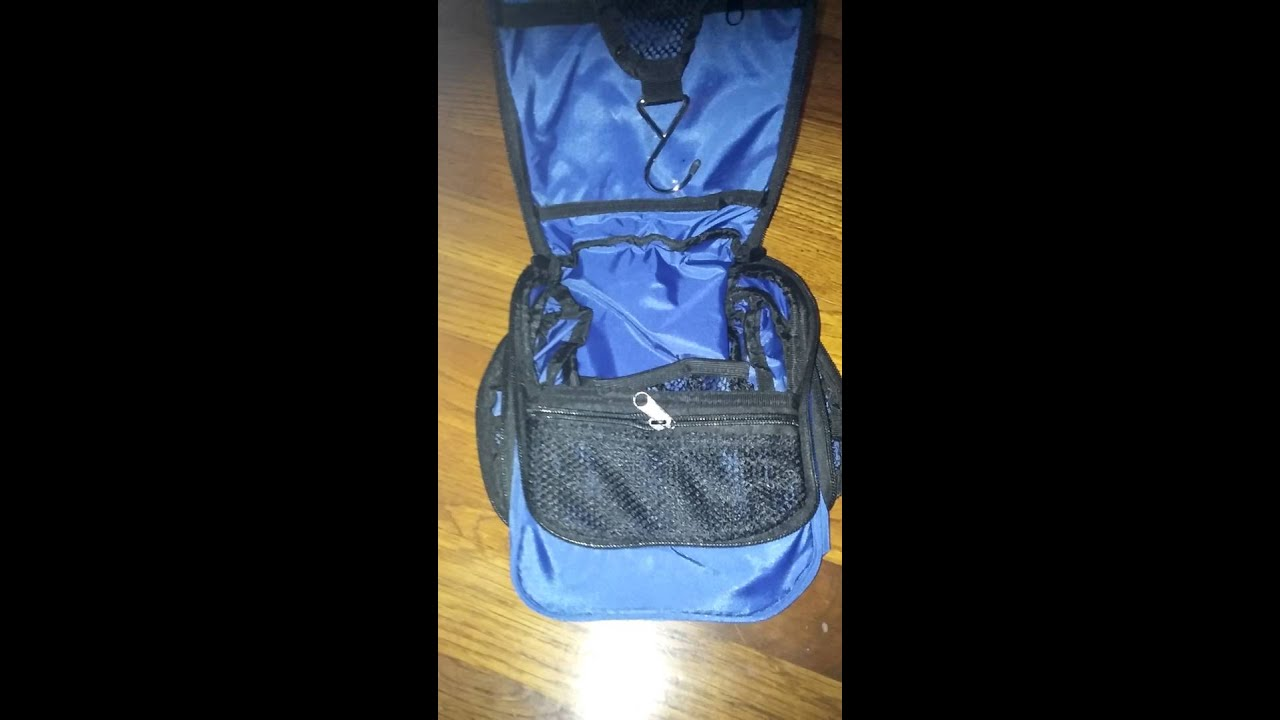 176934cf52a5 NeatPack Toiletry Bag Review - YouTube