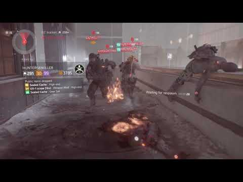 Confident Trash Talker Disappears When It Gets Tough (1.8.2) The Division Solo/Group Manhunt DZ PvP