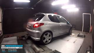 Reprogrammation Moteur Peugeot 206 RC 2.0 16v 177hp @ 195hp par BR-Performance