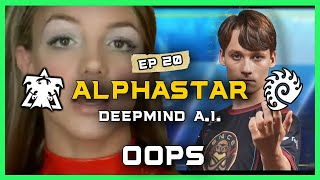 """Oops I did It Again"" AlphaStar Ep 20 [TvZ] Deepmind A.I. Starcraft 2"