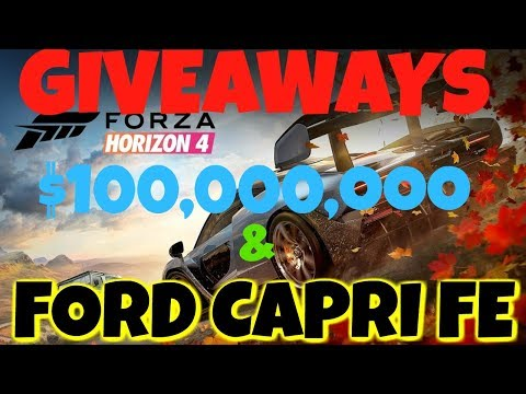 Forza Horizon 4  HUGE MONEY CAR GIVEAWAY $100,000,000 thumbnail