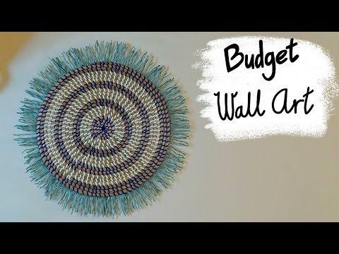 Cheap Anthropologie Inspired DIY Wall Art