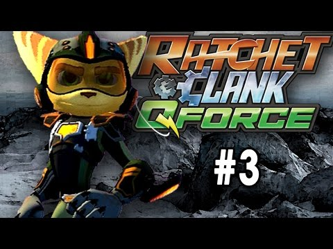 Ratchet & Clank  Q Force  Full Frontal Assault Part 3 Another Planet On The List