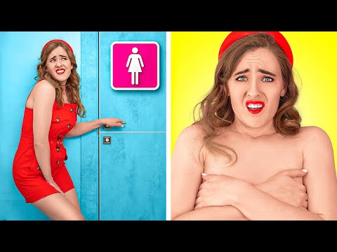 TYPICAL GIRLS SITUATIONS    Funny Life Situations That You Know by 123 GO!