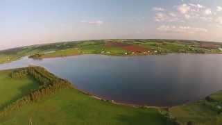 Flight around Souwest River, Long River P.E.I.