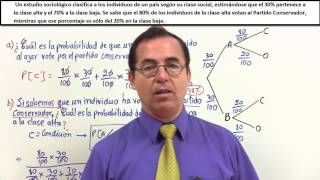 Probabilidades 5  Teorema de bayes