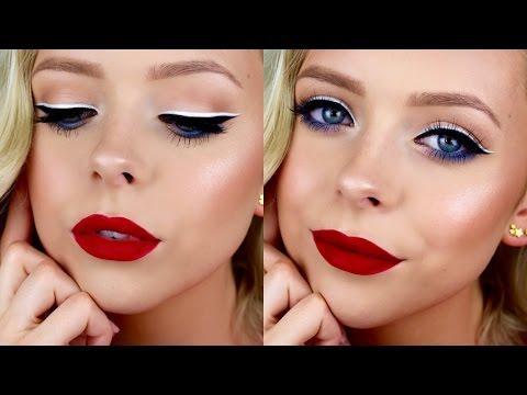 Fun & Festive 4th Of July Makeup | Cosmobyhaley