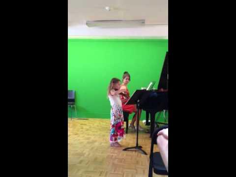 Bridgette Violin Recital 2013, Marblehead School of Music
