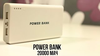 Обзор Power Bank 20000 мАч