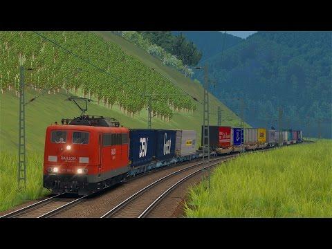 LET`S TEST Train Simulator 2016 / Unterwegs mit der BR 151 ExpertLine von virtualRailroads
