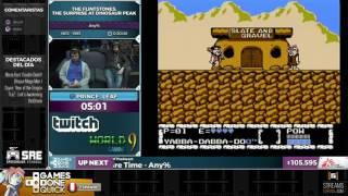 The Flintstones: The Surprise at Dinosaur Peak! - Retransmisión en Español de SGDQ2016