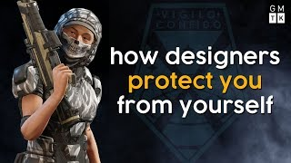 How Game Designers Protect Players From Themselves | Game Maker's Toolkit