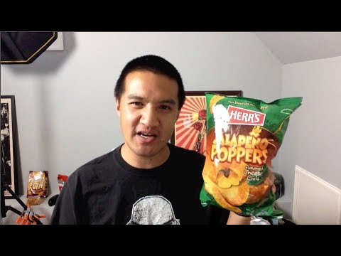 Herr's Jalapeno Poppers Cheese Puffs REVIEW: Freezerburns
