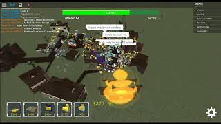 roblox tower defense simulator I BEAT IT IN INSANE AGAIN!