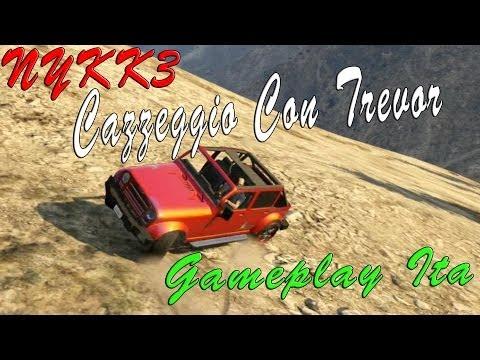 GTA 5 - Gameplay ITA HD - Cazzeggio Giro In Jet Militare E Giro In Montagna Con Jeep Modificata
