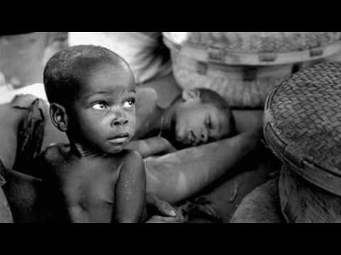 Children are starving to death in Africa