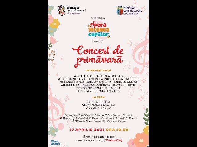 Concert de primăvară - Asociația Opera în lumea copiilor