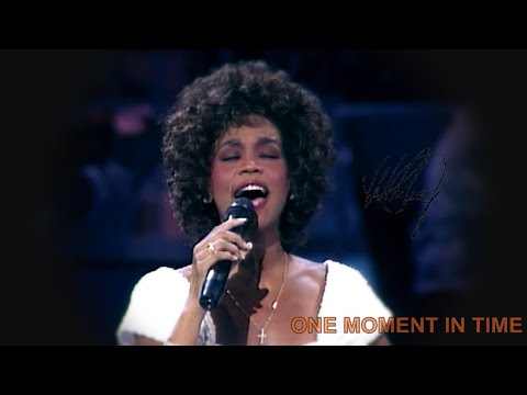 Whitney Houston - One Moment In Time - (Live at Grammy, 1989)