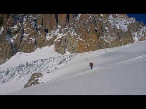 Grands Montets chamonix ski guide