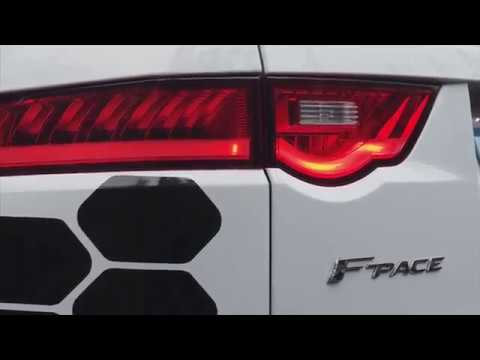 Jaguar's Vehicle-to-infrastructure Technology