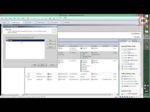 Forefront TMG - 1 Access Rule   Access Web full