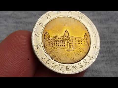 2 Euro Slovenska Specimen (this 2 Euro Worth Value 4$ To 5$)