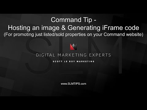 KW Command Tip - Hosting An Image And Generate IFrame Code