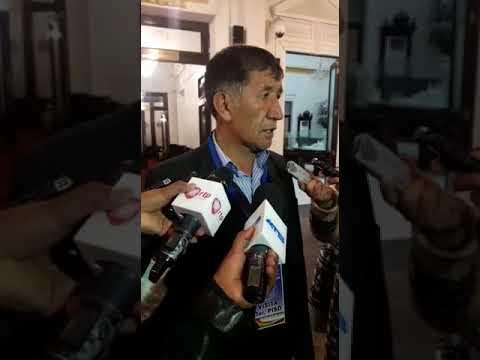 """Resultado de imagen de Sorprenden a Pastor Mamani en una """"cruzada"""" por la Asamblea"""