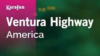 Karaoke Ventura Highway - America *