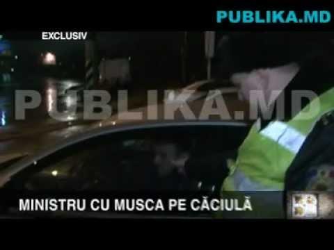Ministrul Culturii, Boris Focşa, BEAT la volan